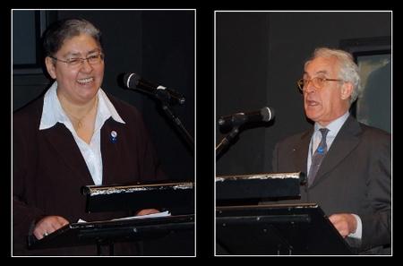 Marie-Françoise Delval and Daniele Jalla